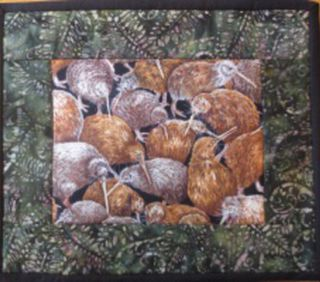Kiwi Table Mats - set of 4