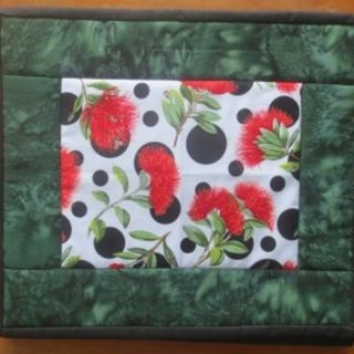 Pohutukawa Dots Table Mats - set of 4