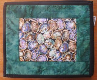 Paua Shells Table Mats - set of 4