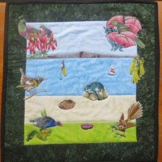 Rangitoto Wall Hanging - Limited Edition