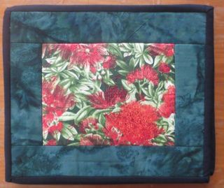 Table Mats Pohutukawa Blossom - set of 4