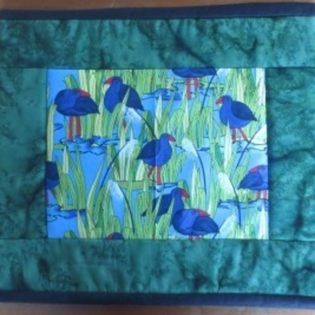 Pukeko & Toi Toi Table Mats - set of 4